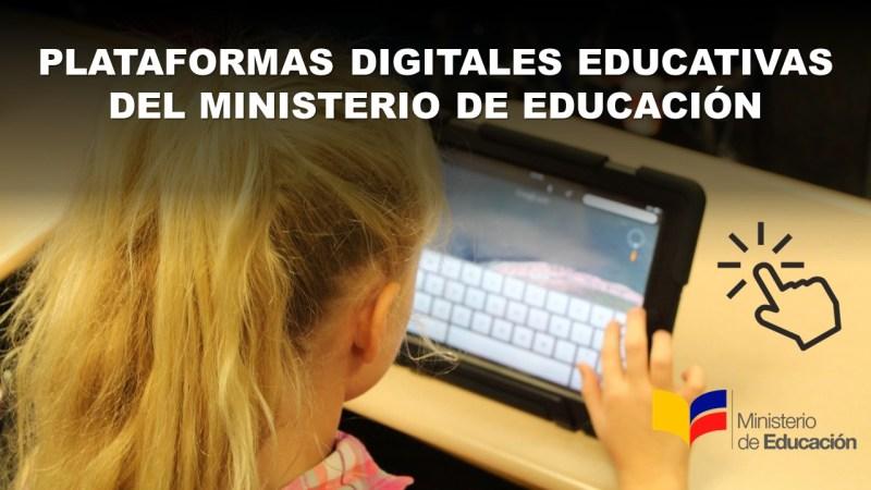 Plataformas Digitales Educativas del Ministerio de Educación