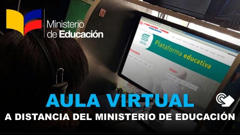 Aula Virtual a Distancia del Ministerio de Educación