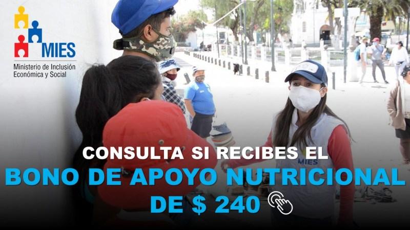 Consulta si Recibes el Bono de Apoyo Nutricional de 240 Dólares