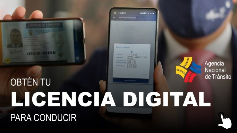 Obtén tu Licencia Digital para Conducir ANT