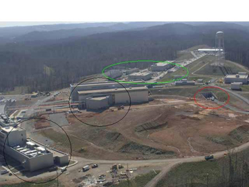Oak Ridge facility photo from Lincoln