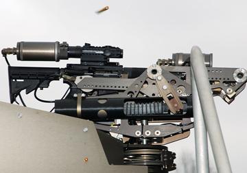 ROWS automatic heat seeking machine gun at Oak Ridge
