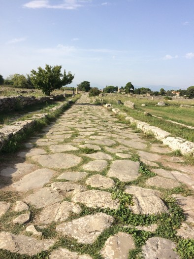 Roman Road linking the temples