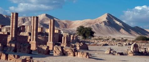 Hisham's Palace in the desert
