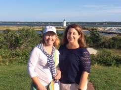 Janet and Nicole, Edgartown