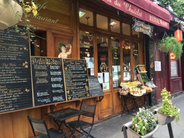 Typical Paris Bistro