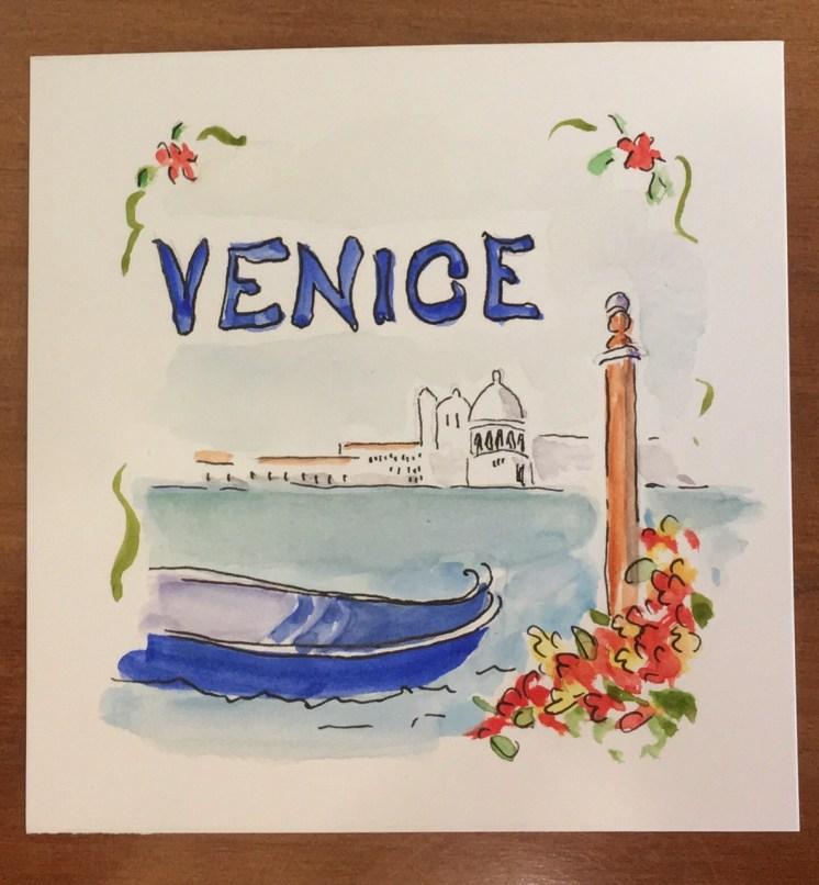 The lagoon of Venice