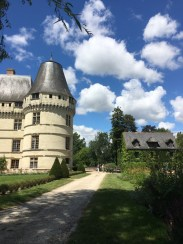 Chateau from the garden