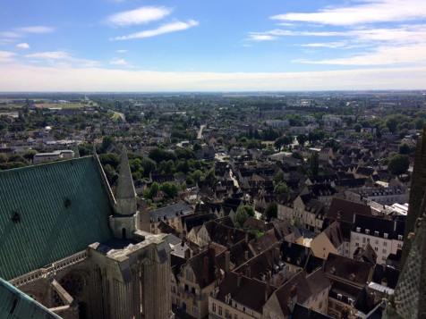Chartres Cathedral - North Tower panorama