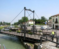 A bridge over the Brenta Canal at Mira