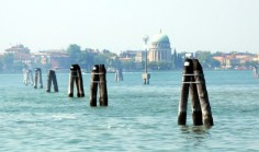 The Lido of Venice and Briccole Wooden Markers