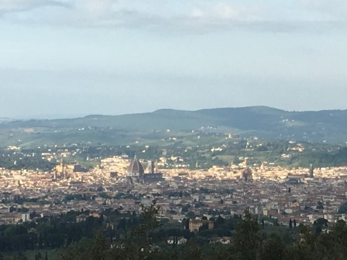 View of Florence from Villa San Michele