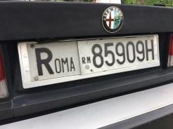 Alfa Romeo cars were all from Rome...