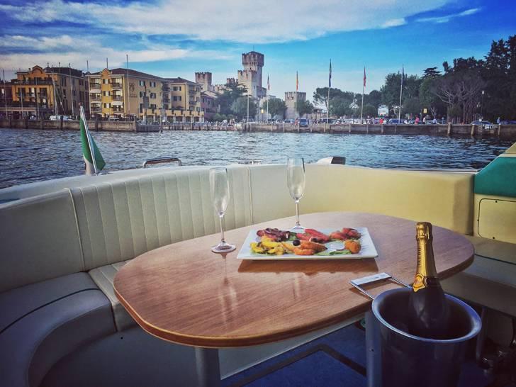 Romance on a Lake Garda Cruise