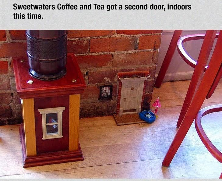 These Secret Tiny Doors Can Be Found All Around This Town. The Reason Why They Built Them Absolutely Brilliant! (4)