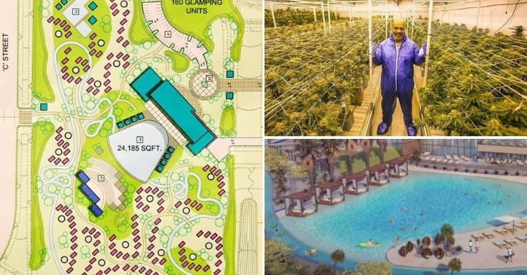mike tyson 420 acre weed paradise