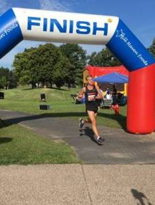 Dan 5K Finish