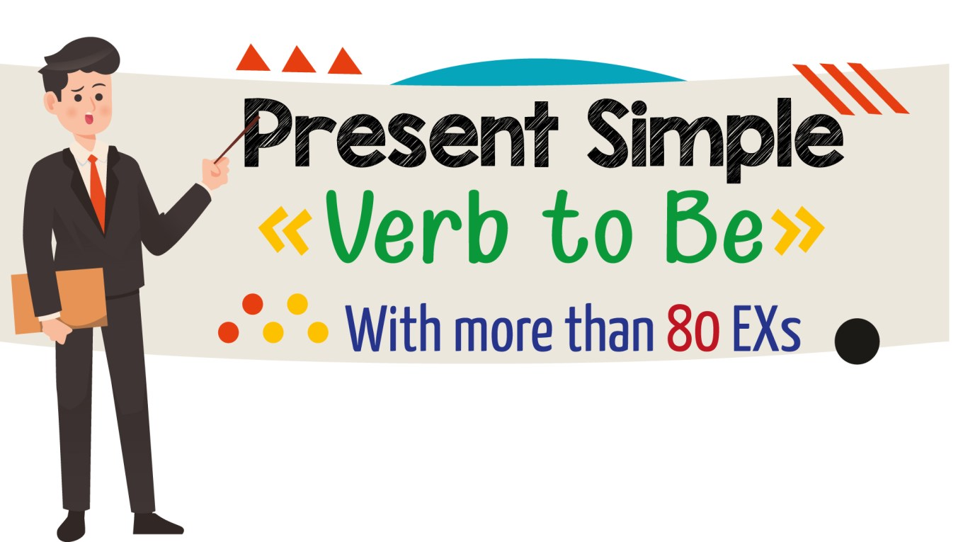 English Grammar - Present Simple - Verb To Be