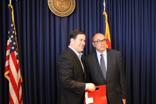 Governor Doug Ducey Awards Consular Corps Arizona Governor ...