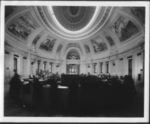 Rotunda of the U.S. Custom House in New York City, 1937