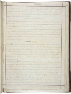The 1868 joint resolution proposing the 14th Amendment to the states