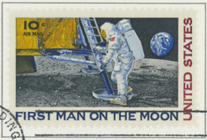 Apollo 11 Commemorative First Day Issue Stamp