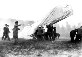 Wright Brothers Crash