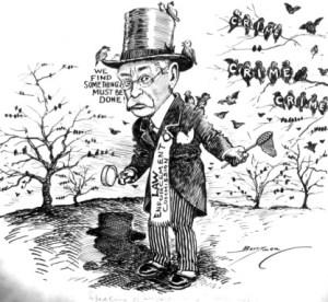 Speaking of Superfluous Starlings Cartoon