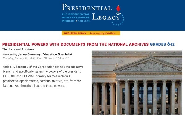 Presidential Powers with Documents from the National Archives