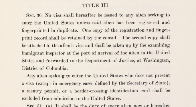 Title III, Section 30 of the Alien Registration Act of June 1940