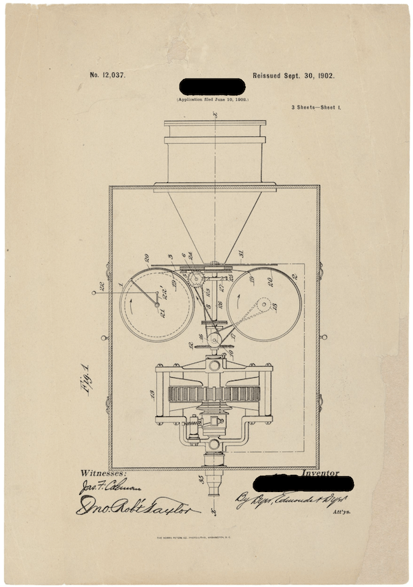patent drawing for patent No. 12,037
