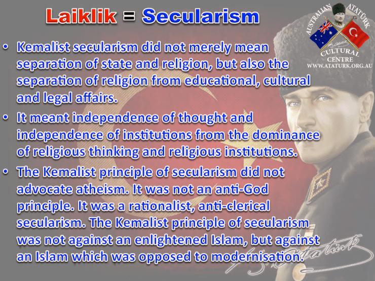 AAKM - Ataturk Principles and Reforms - 6 Secularism