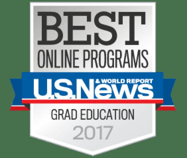 1 Ranking For Online Graduate Education Degree