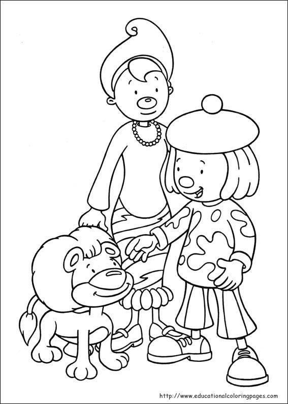Jojo Circus Coloring Pages Educational Fun Kids Coloring