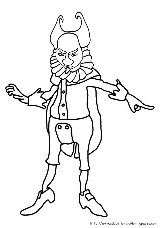 Puss In Boots Coloring Pages Educational Fun Kids