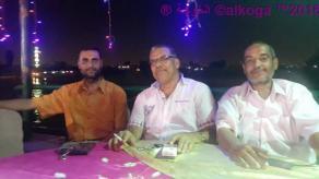 المعلمين فى فرح ابنه عزت شومان