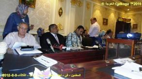 الحسينى محمد ( الخوجة ) فى لجنة التعليم بمجلس النواب