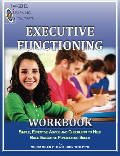 Executive Functioning Workbook Cover