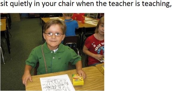 sit quietly
