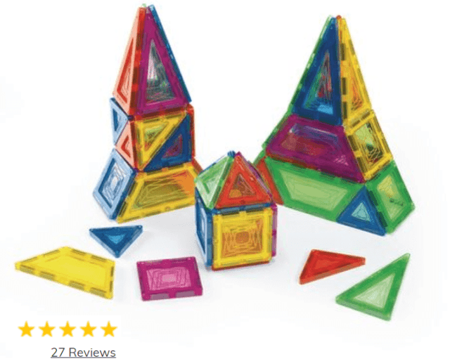 Excellerations Building Brilliance Magnetic Shapes