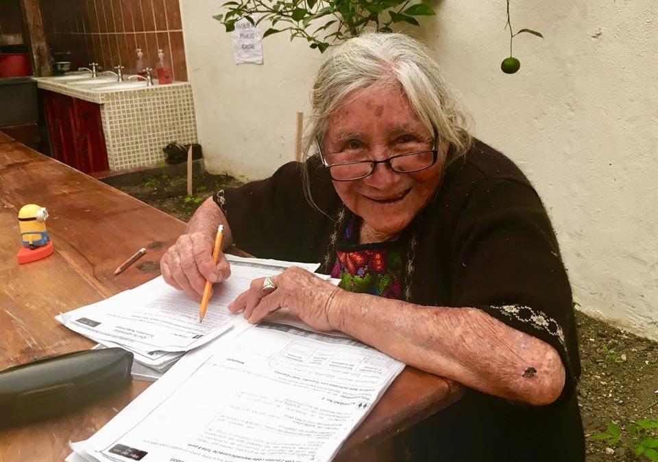 100 Faces of Hope/ 6: Doña Diega