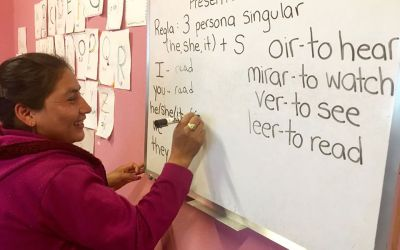 100 Faces of Hope/ 13 Multi-lingual literacy