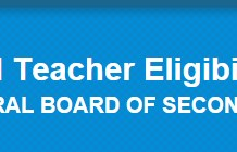 CTET Logo large Central Teacher Eligibility Test