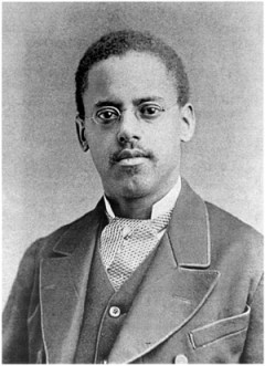 Inventor Lewis Latimer, who improved Edison's light bulb, invented a toilet for trains, and introduced my characters to Tesla