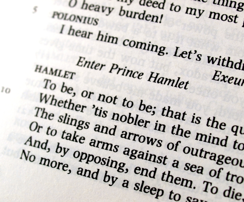 Section from Hamlet