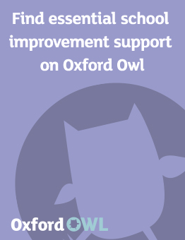 Find essential school improvement support on Oxford Owl