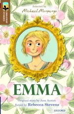 Emma retold by Rebecca Stevens cover