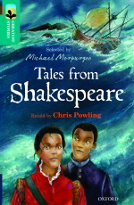 Tales from Shakespeare Cover