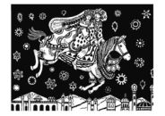 the enchanted horse illustration