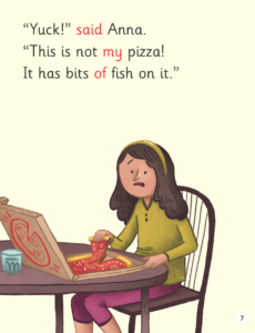 this is not my pizza illustration